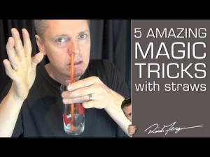 How to do Magic Tricks with a Straw